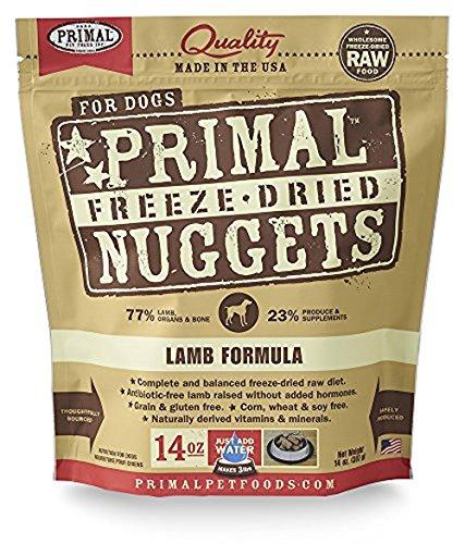 (Primal Pet Foods Freeze-Dried Canine Lamb Formula Nt. Wt. 14 Oz)