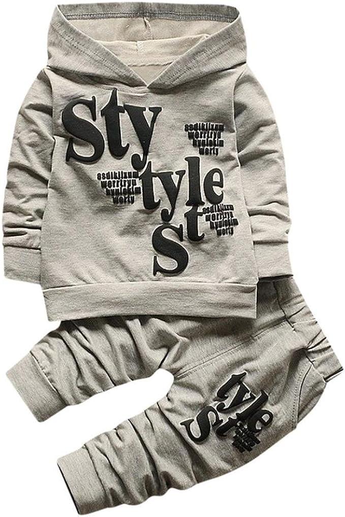 Amazon.com: Conjunto de ropa para niños de 1 a 5 años de ...