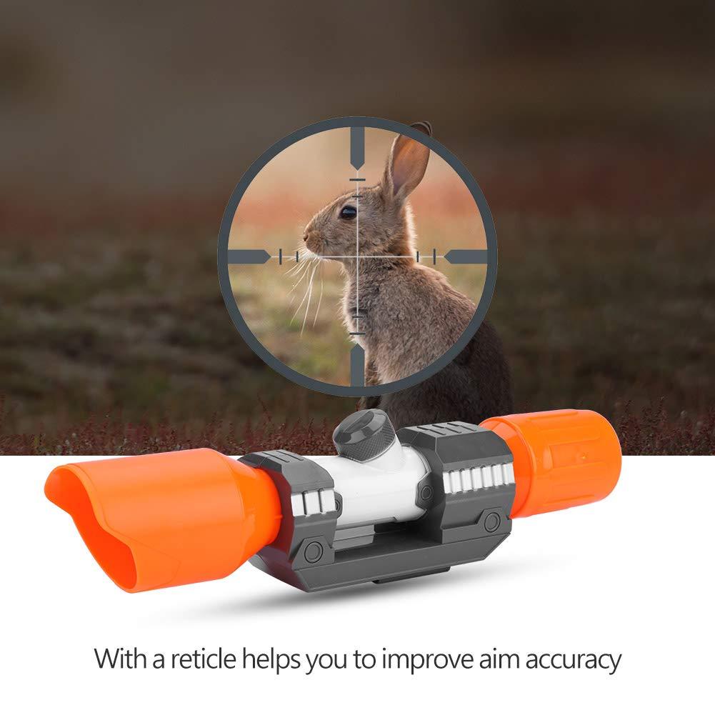 Kunststoff Zielfernrohr mit Absehen Zubeh/ör f/ür Nerf Modify Toy