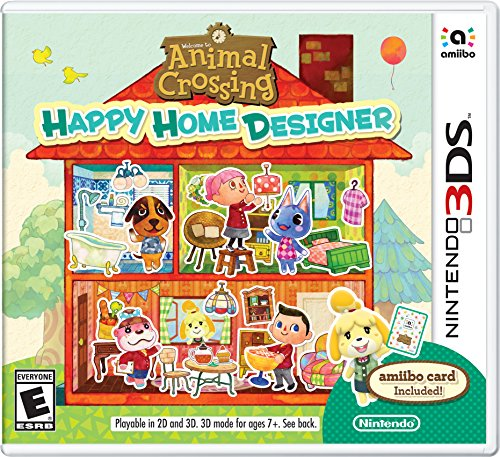 - Animal Crossing: Happy Home Designer - 3DS