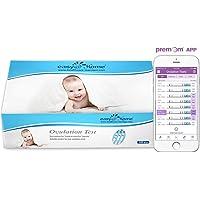 Easy@Home 100 x Ovulatietesten, Met Premom Ovulatie Predictor iOS