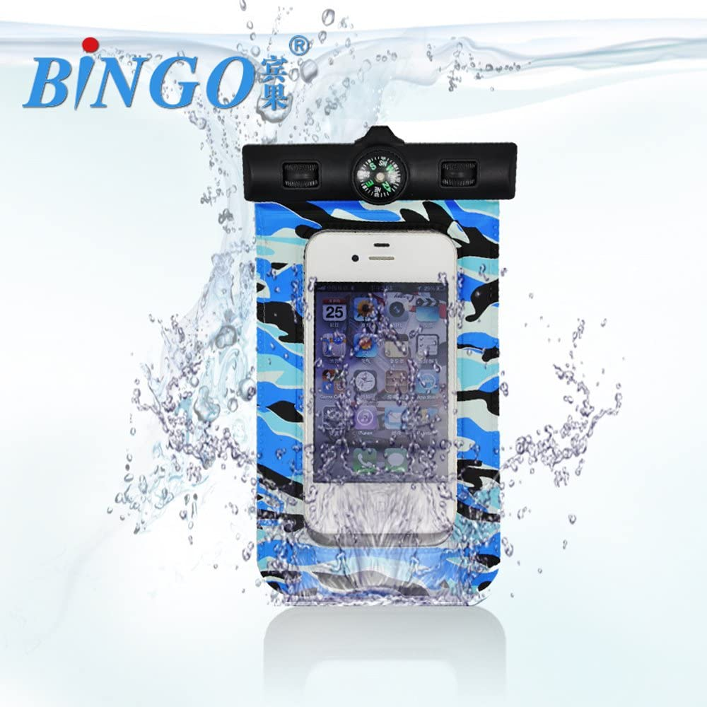Impermeable Funda Bolsa Cover con brújula para teléfono móvil ...