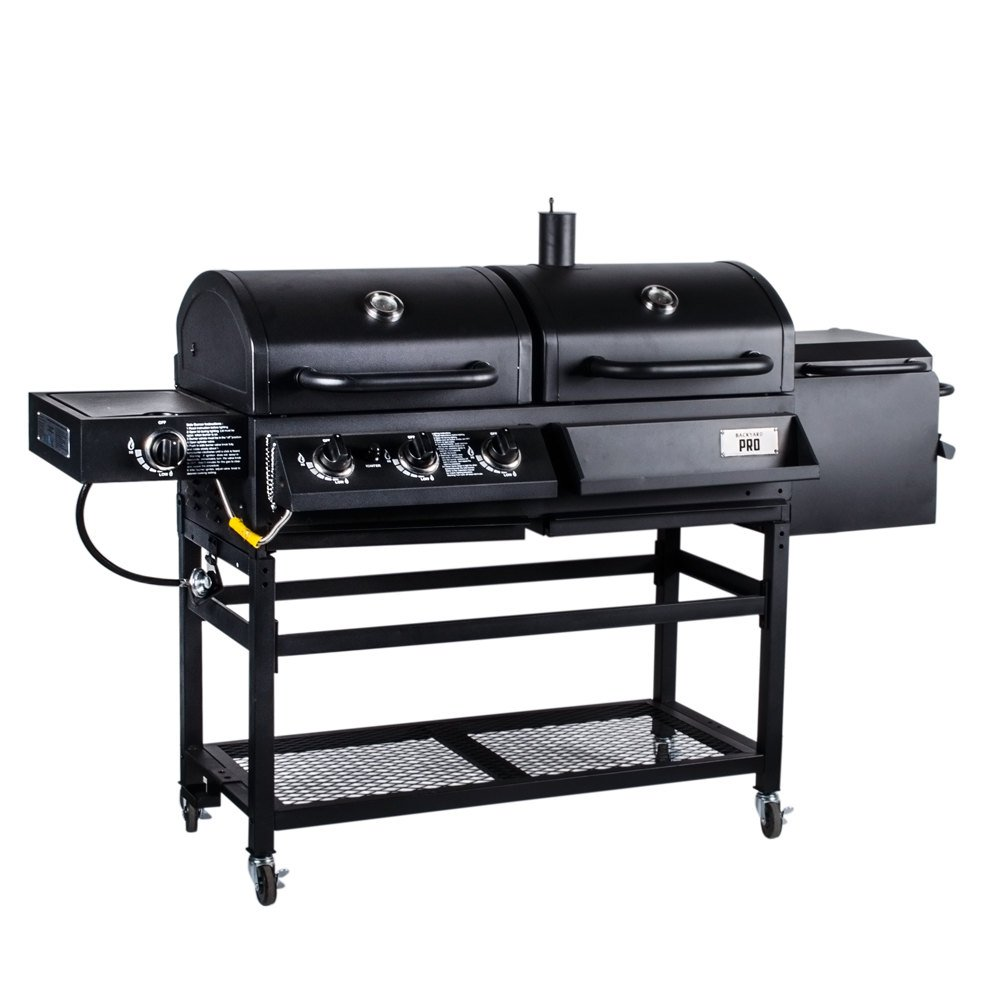 amazon com backyard pro portable outdoor gas and charcoal grill