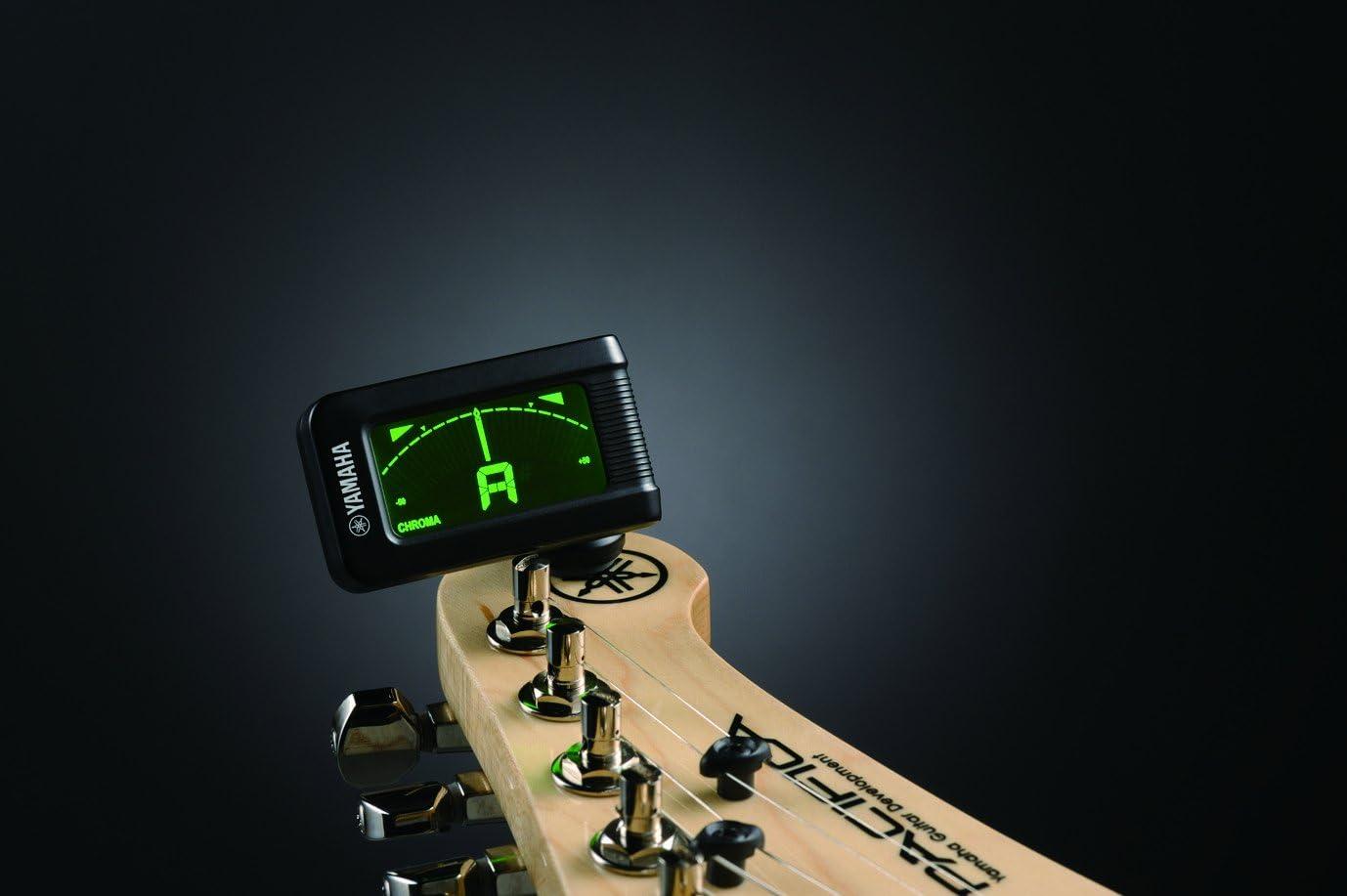 Yamaha YTC5 - Afinador electrónico de tipo pinza, color negro ...
