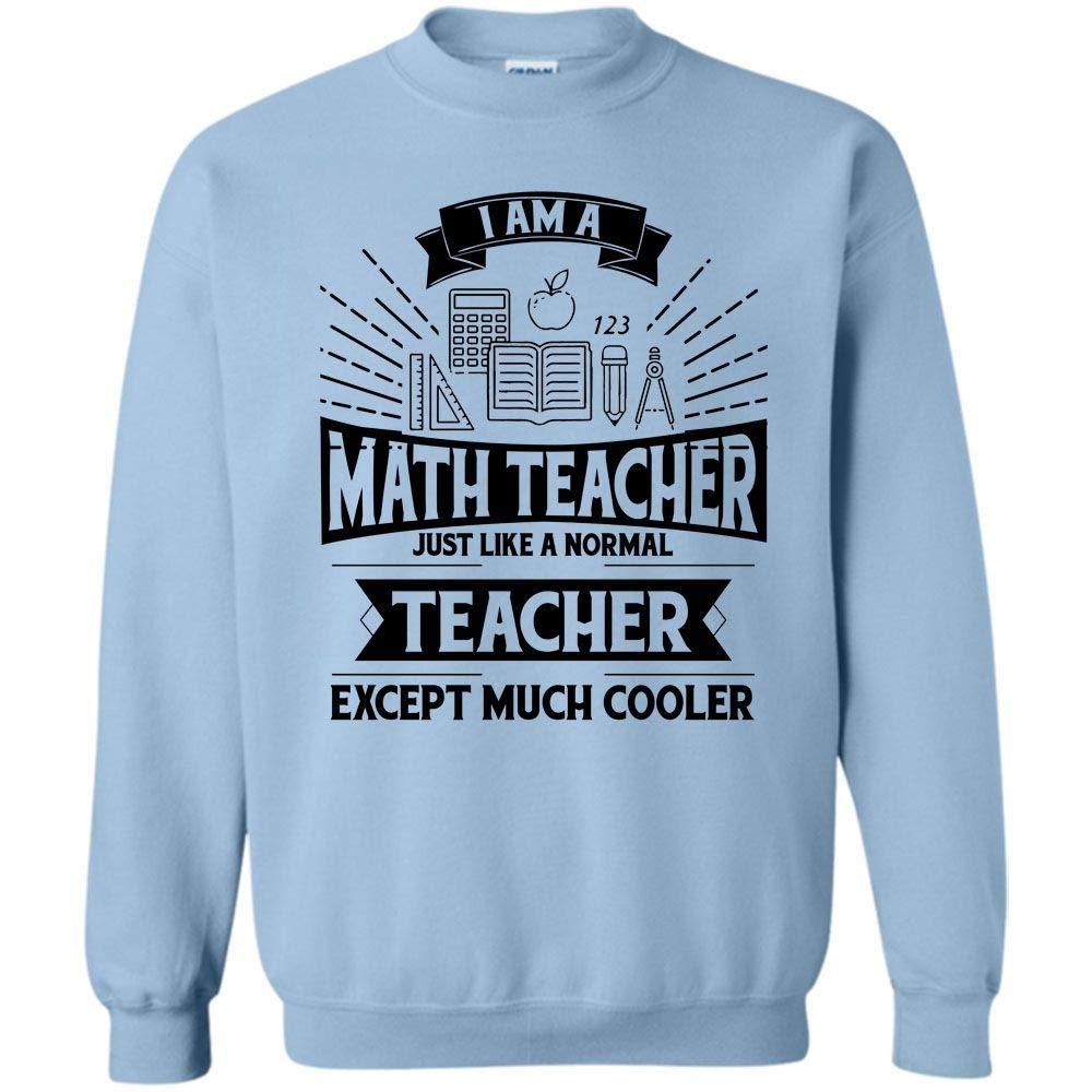 Funny Summer Vacation I Am A Math Teacher Shirts
