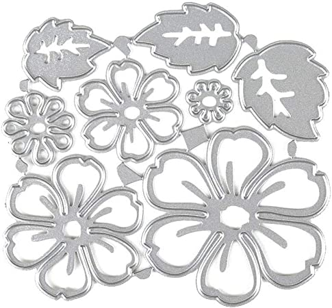 Embossing Tool for Album Paper Card Making Scrapbooking DIY Etched Dies Craft Leaf Cutting Dies Stencil Metal Template Moulds