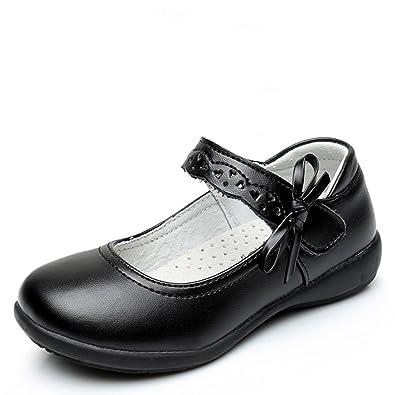 Amazon.com: Chiximaxu Maxu Girl Uniform Mary Jane zapatos ...