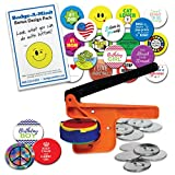Badge-A-Minit 100M 2 1/4'' Badge-A-Minit Button Machine Deluxe Starter Kit