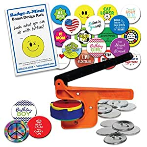 """Badge-A-Minit 100M 2 1/4"""" Badge-A-Minit Button Machine Deluxe Starter Kit"""