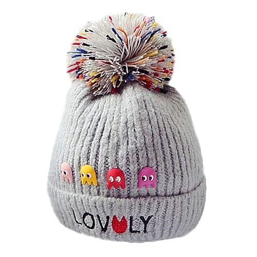 Niños otoño invierno letra sombreros gorra de lana lindo gorro de lana  dibujos animados sombrero hecho 5d8d6a660d7