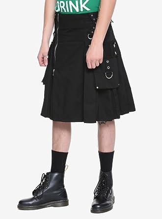 e2fc7da94 Hot Topic Tripp Black Kilt at Amazon Men's Clothing store: Pants