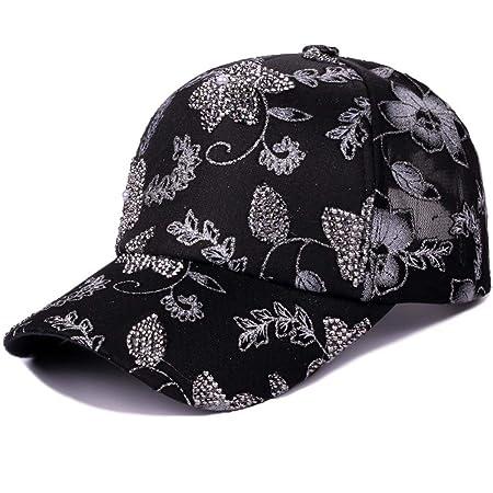 zhuzhuwen Sombrero de Las señoras Gorra de béisbol de Encaje ...