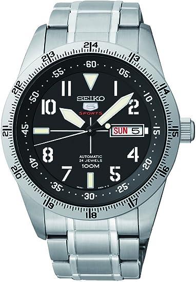 SEIKO(セイコー) SEIKO5 セイコー ファイブ SPORT スポーツ 腕時計 海外モデル メンズウォッチ 自動巻き オートマチック メタルバンド ブラック SRP513K1[逆輸入品]