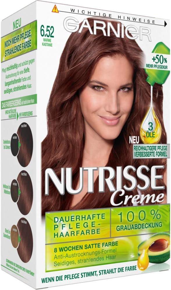 Garnier – Coloración – Nutrisse crema – 6.52 Castaña caliente