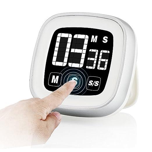 15 opinioni per Timer Cucina Elettronico- Digitale con Touch Screen