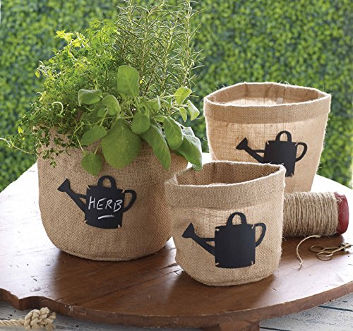 mud-pie-burlap-planter-pots-with-chalkboard-tags-set-of-3