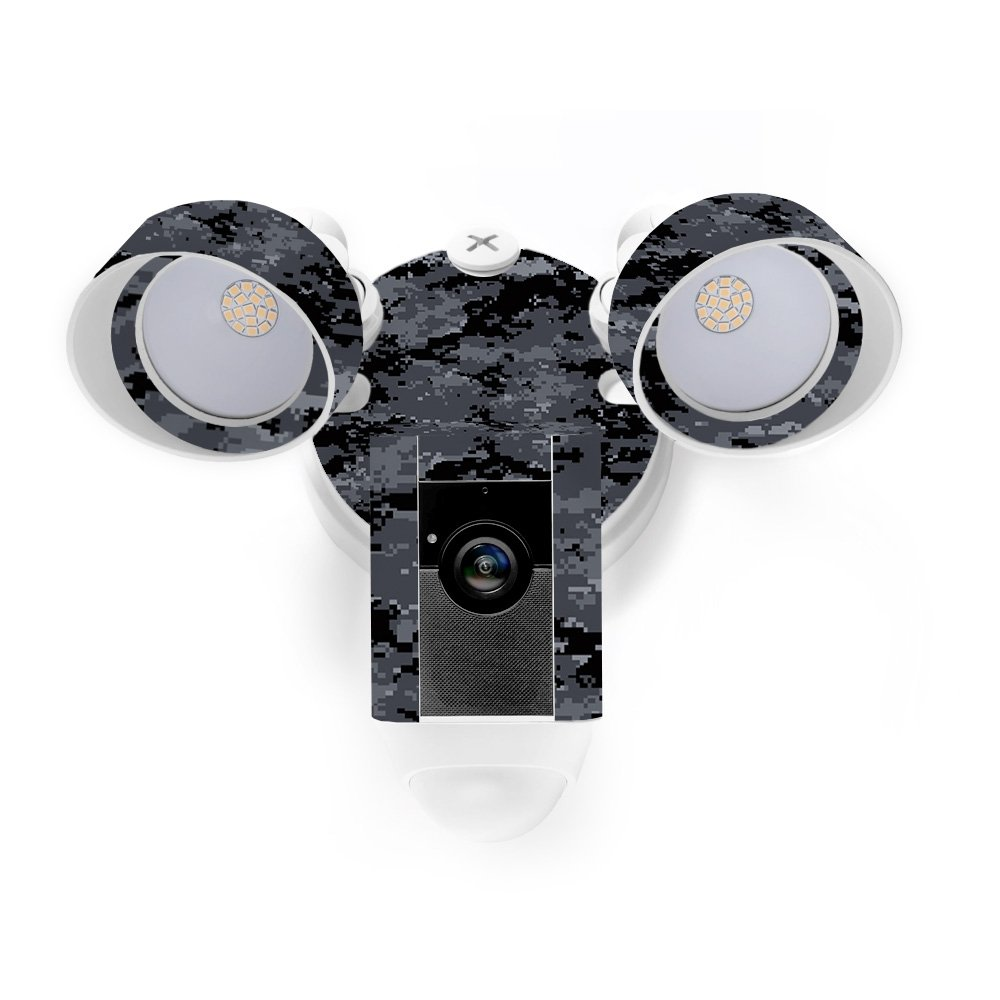 MightySkins Skin for Ring Floodlight Cam - Digital Camo Protective, Durable, and Unique Vinyl Decal wrap Cover | Easy to Apply, Remove, and Change Styles | Made in The USA by MightySkins