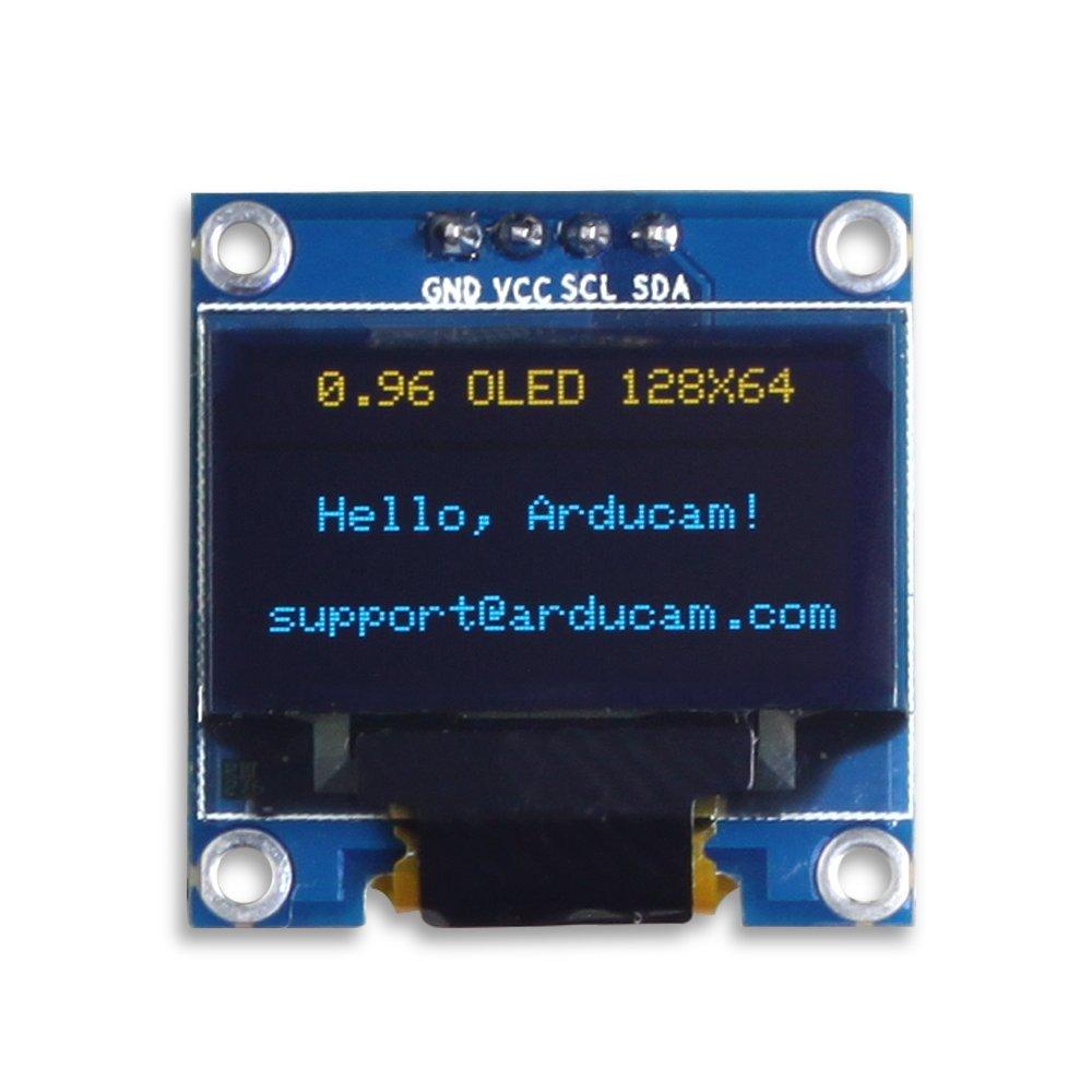Amazon.com: UCTRONICS 0.96 Inch OLED Module 12864 128x64 Yellow ...