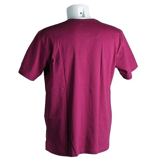 Kitaro, , kurzarm Shirt T-Shirt, Jerseyqualität, raspberry, L [10591]:  Amazon.de: Bekleidung