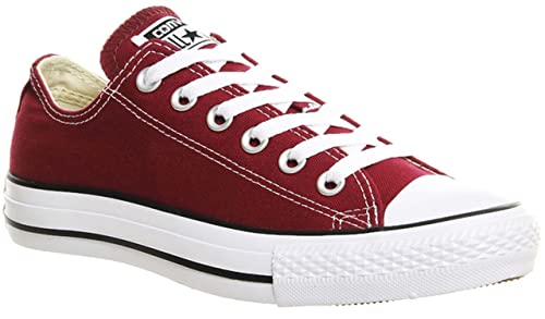 zapatos converse color rojo