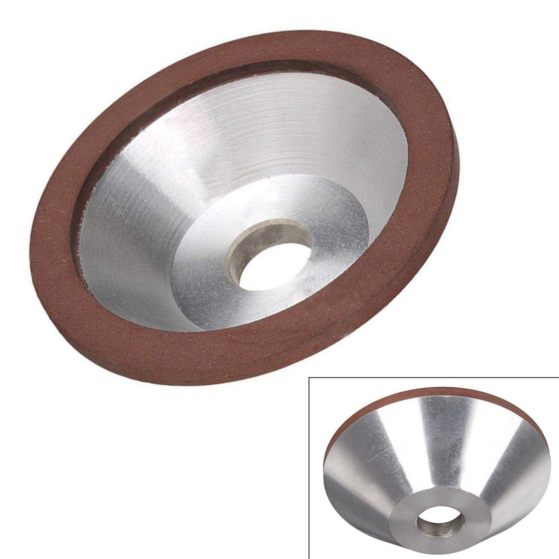 ZXHAO 100x32x20x10x3 Cup Diamond Grinding Wheel for Alloy Blade Tungsten by ZXHAO
