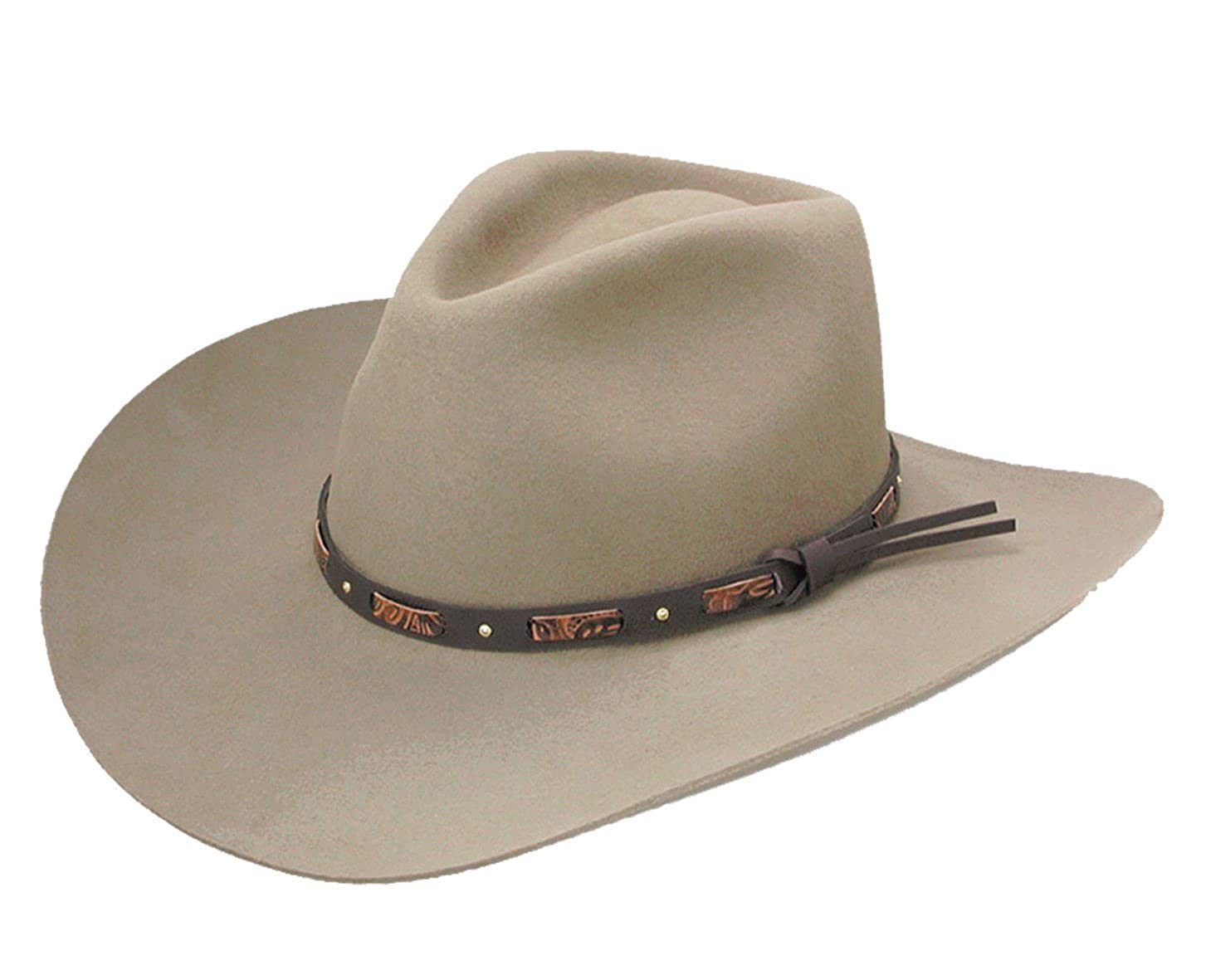 3ccf87fb227 Stetson Men s Hutchins 3X Wool Felt Cowboy Hat at Amazon Men s Clothing  store