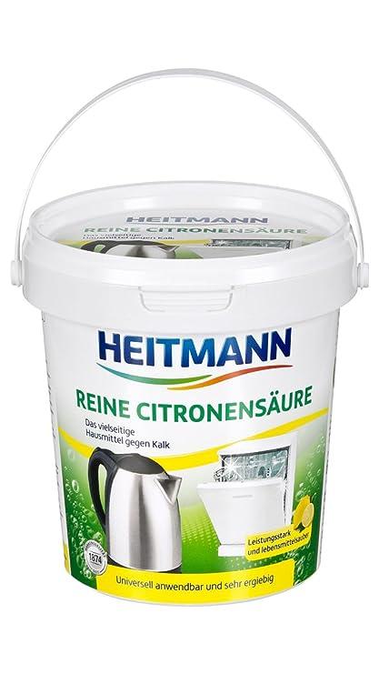 Heitmann - pura ácido cítrico - 650 G
