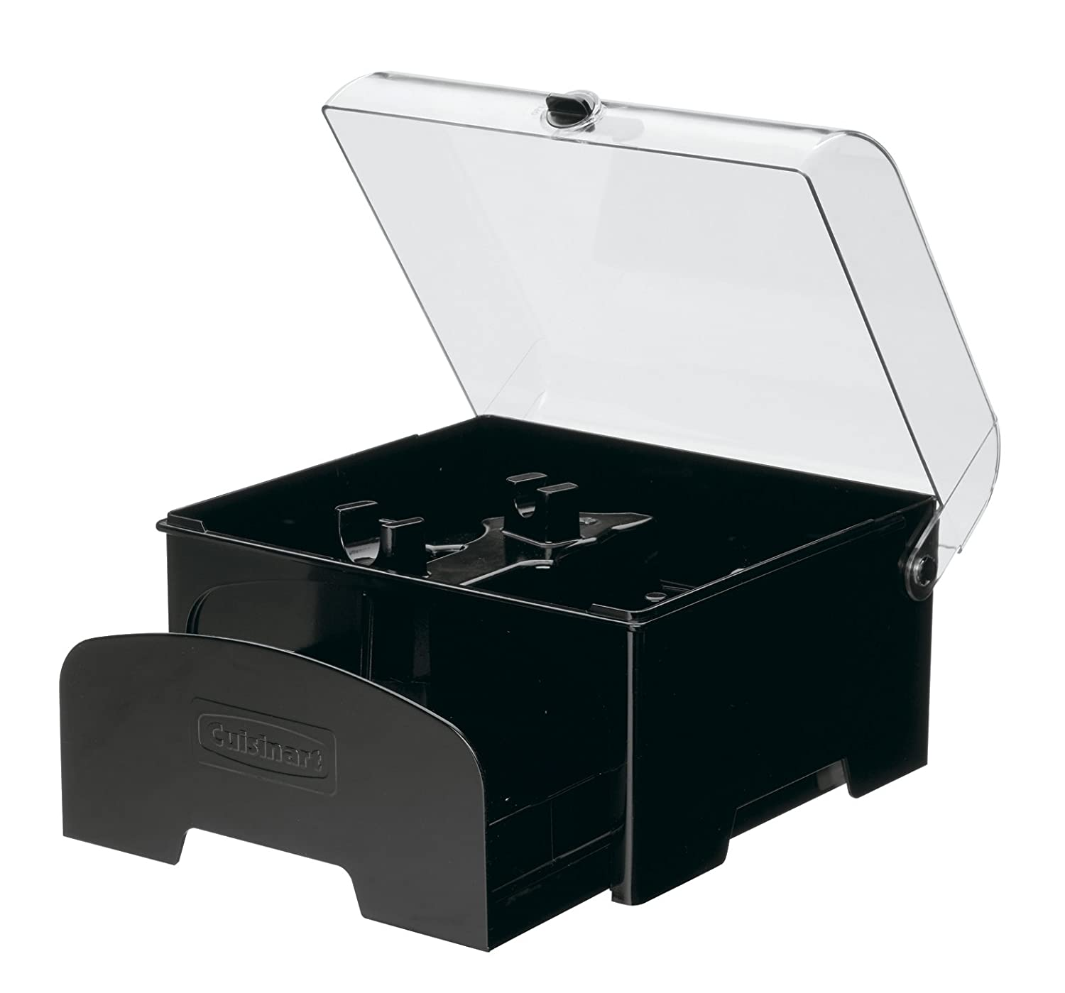 Cuisinart FP-12BKSC Elite Collection Accessory Storage Case for 12-Cup Food Processors, Black
