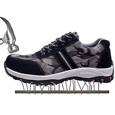 Kangcheng Calzature di Sicurezza da Donna Uomo Scarpe da Lavoro in Acciaio  Leggero e Intersuola in Kevlar Scarpe da Lavoro Senza Metallo Scarpe da  Lavoro  ... 223b4badb2d
