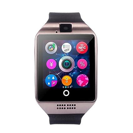 ❤️SmartWatch Bluetooth 3.0 Btruely Herren Pulsera Actividad Reloj Inteligente Support SIM para teléfonos Impermeable Deporte Fitness Tracker con ...