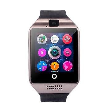 ❤️SmartWatch Bluetooth 3.0 Btruely Herren Pulsera Actividad Reloj Inteligente Support SIM para teléfonos Impermeable Deporte