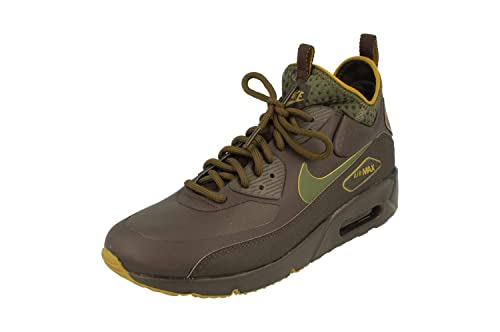 hot sale online 0d289 1ddca Nike Air Max 90 Ultra Mid Winter SE Mens Hi Top Trainers AA4423 Sneakers  Shoes (UK 7.5 US 8.5 EU 42, Velvet Brown 200)  Amazon.co.uk  Shoes   Bags
