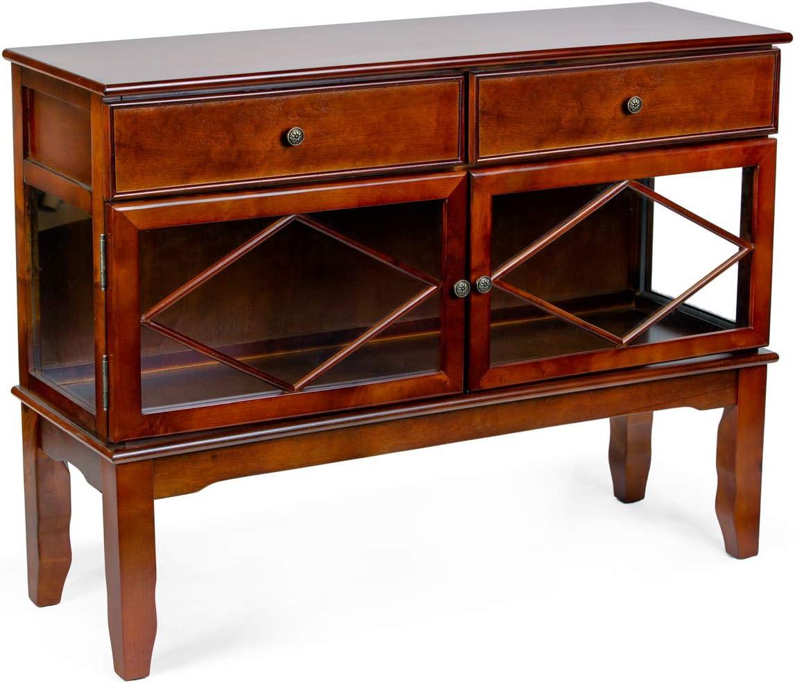 All Things Cedar HR12 Buffet Cabinet, Cherry