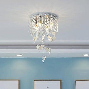 Deckenleuchte ZLR Schlafzimmer Modern Minimalist Creative Warm Kinder  Zimmer Lichter Mädchen Prinzessin Fernbedienung Lampen E14