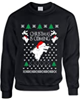 Allntrends Adult Sweatshirt Christmas Is Coming House Stark Ugly Xmas Gift