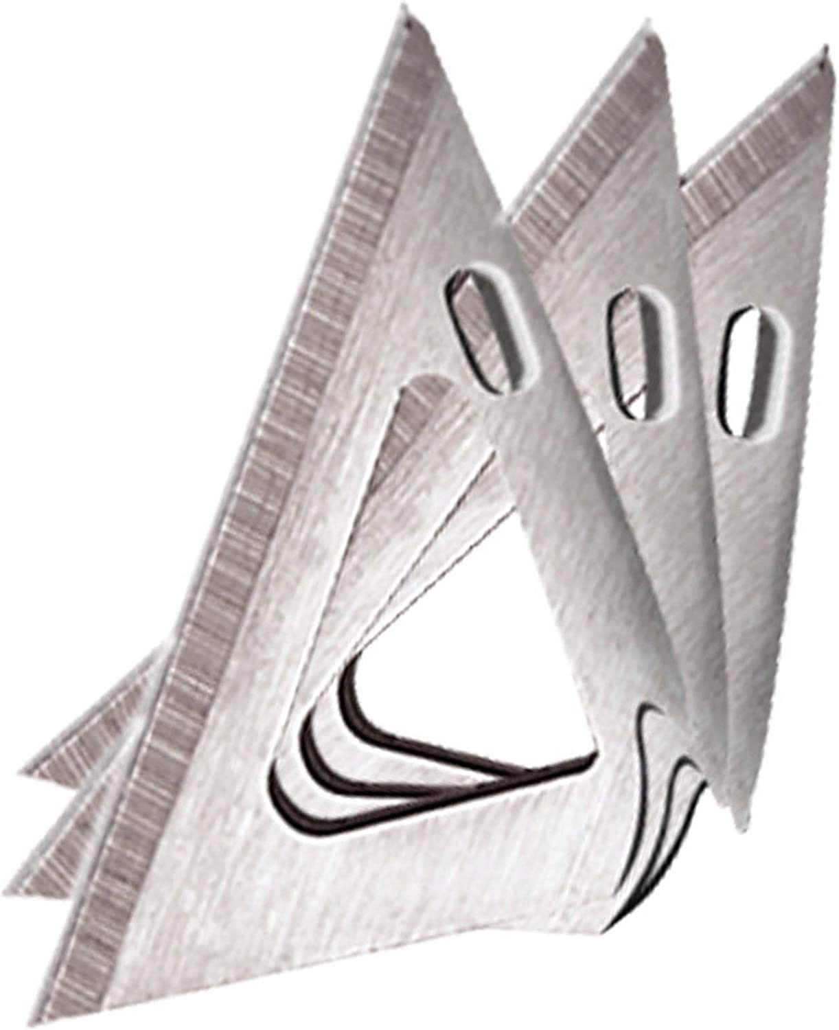 3 Pack NEW SEALED! Details about  /Muzzy One 100GR Stainless Steel 3 Blade Broadheads