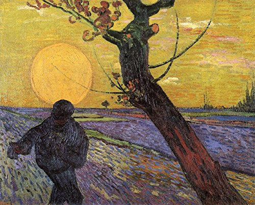 Sower with Setting Sun by Vincent Van Gogh - 20