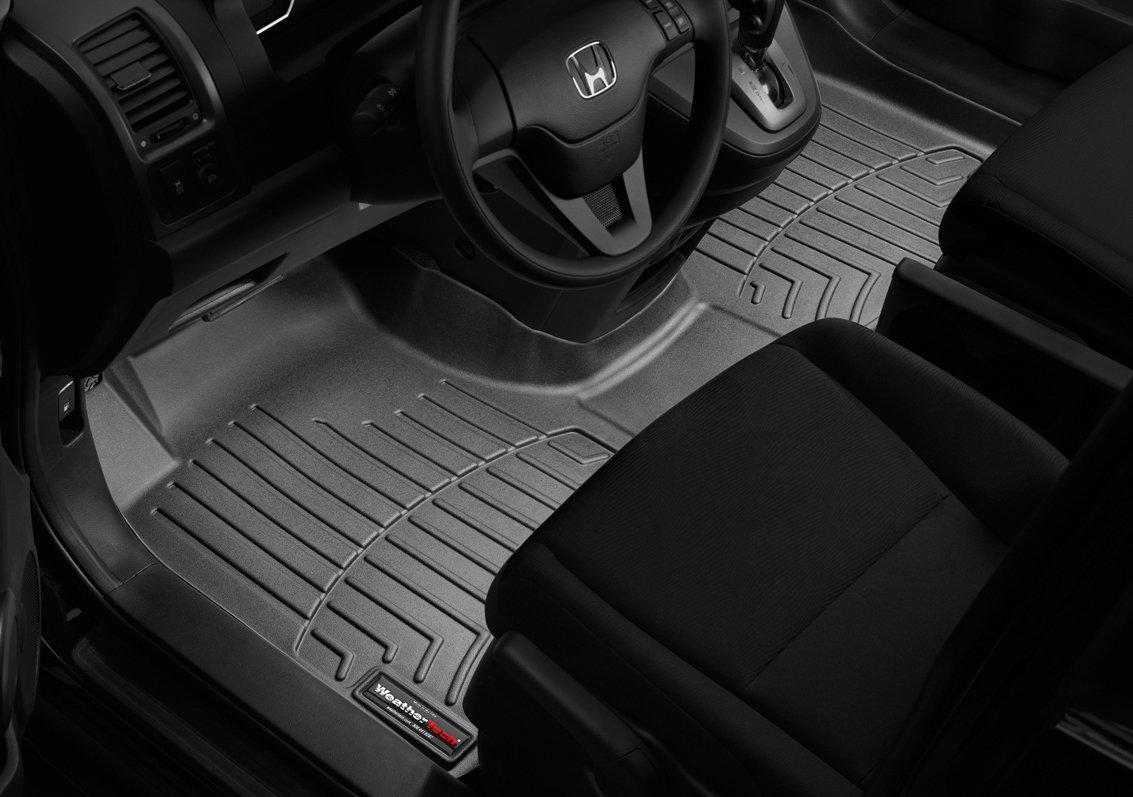 WeatherTech Custom Fit Front FloorLiner for Honda Accord Tan