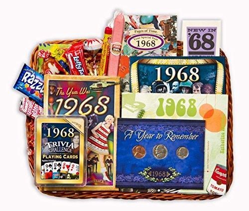 50th Wedding Anniversary or 50th Birthday Gift Basket
