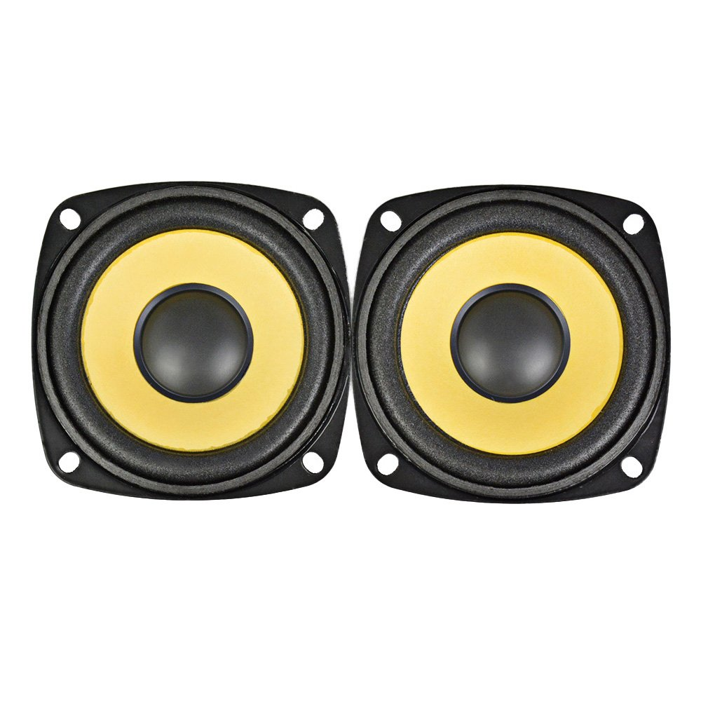 AIYIMA 2Pcs 3Inch Audio Portable Speakers Full Range 4Ohm 10W Speaker Magnetic Multimedia Loudspeaker DIY HIFI Home Theater by AIYIMA