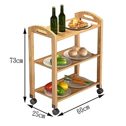Serving Carts Cocina Comedor Carretilla del Carro del balanceo,Carrito Restaurante Verdura Cocina Porción de
