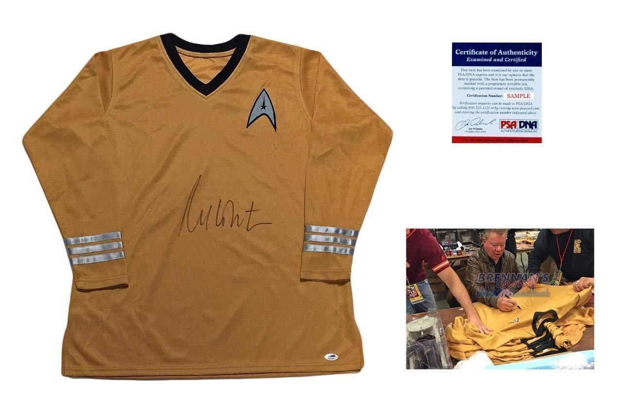 William Shatner Autographed Signed Captain Kirk Uniform PSA/DNA Authentic
