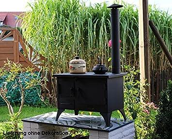 Outdoor Küche Holzherd : Outdoorküche grillkamin wellfire nova quattro weiß kaufen cafiro