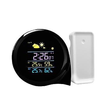 Station Météo - GEEDIAR Mini Météo Station Sans Fil LCD Digital Thermomètre  Hygromètre Température Humidité Intérieur 343830356be6