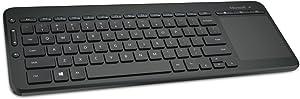 Microsoft Wireless All-in-One Media Keyboard (N9Z-00005) Portuguese
