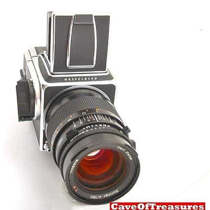 Amazon com : Mint Late Hasselblad 500C/M 500CM, 150mm Lens, A12