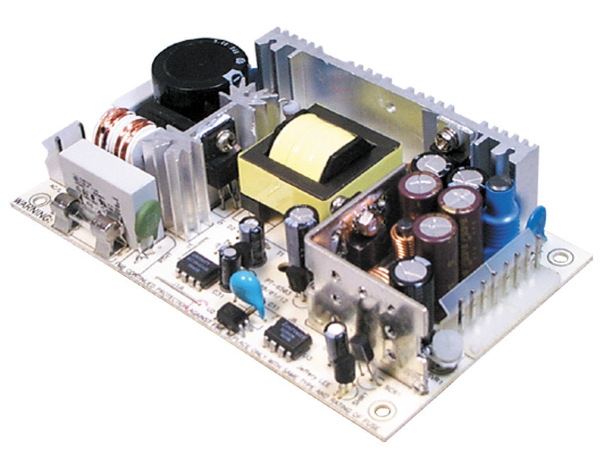 MW Mean Well PT-4503 3.3V 5V 12V 1A 4A 45W Triple Output with 3.3V output Switching Power Supply