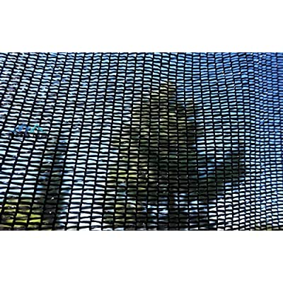 SHANS Shade Cloth Canopy Fabric Sunlight UV Blocking Rate 40%(10ft x 10ft) with Plastic Grommets Clips Free : Garden & Outdoor