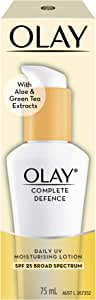 Olay Complete Defence Daily UV Moisturising Lotion Spf 25, 75 ml