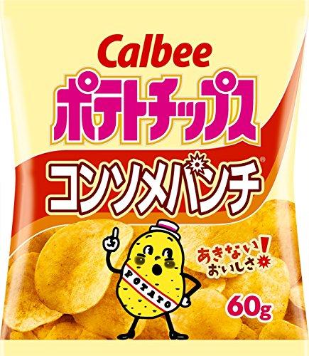 karubi 포테이토 팁(칩)《스》 consomme 펀치 60g × 12 포